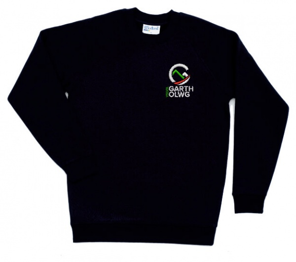 Garth Olwg Middle School Navy Sweatshirt