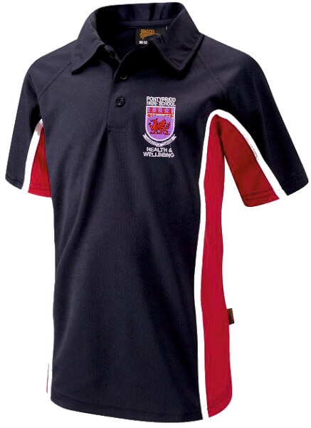 Pontypridd High School PE Polo Shirt